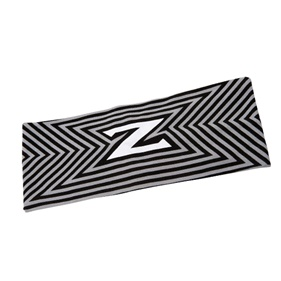 ZONE HEADBAND MAZE WIDE TAPERED CONCRETE