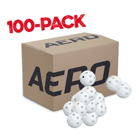 SALMING AERO PLUS BALL WHITE 100-PACK
