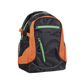 FATPIPE BARRY BACKPACK BLACK/ORANGE