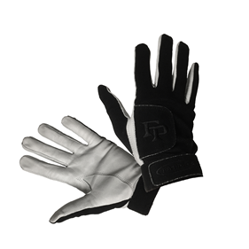 FATPIPE GK-GLOVES WITH LEATHER PALM ALL BLACK M