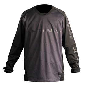 FATPIPE GK-SHIRT ALL BLACK L