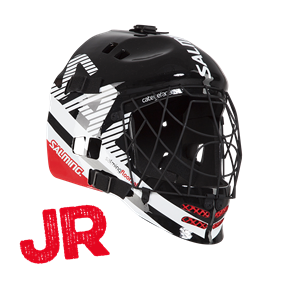 SALMING CORE HELMET JR BLACK/WHITE