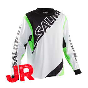SALMING PHOENIX GOALIE JSY JR WHITE 152 CL