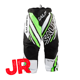 SALMING PHOENIX GOALIE PANT JR WHITE/GECKOGREEN 152 CL