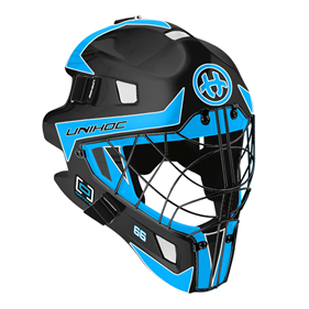 UNIHOC GOALIE MASK UNIHOC OPTIMA 66 BLACK/BLUE