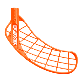 UNIHOC REPLAYER FEATHER LIGHT NEON ORANGE, MEDIUM RIGHT