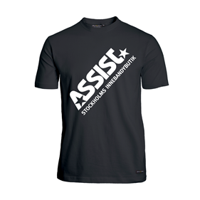 ASSIST FUNCTIONAL TEE 2.0 BLACK L