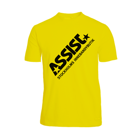 ASSIST FUNCTIONAL TEE 2.0 YELLOW L