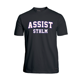 ASSIST STHLM FUNCTIONAL TEE BLACK L