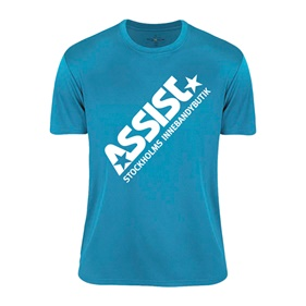 ASSIST FUNCTIONAL TEE 2.0 TURQUOISE 120 CL