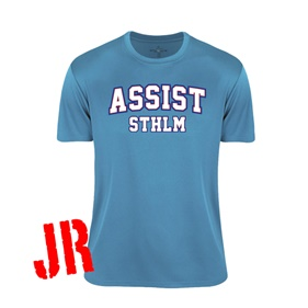 ASSIST STHLM FUNCTIONAL TEE TURQUOISE 120 CL