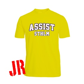 ASSIST STHLM FUNCTIONAL TEE YELLOW 120 CL