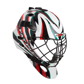 FATPIPE GK-HELMET PRO SR WHITE/RED/GREEN
