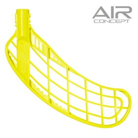 ZONE FORCE AIR SOFT FEEL NEON YELLOW, MEDIUM RIGHT