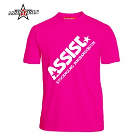 ASSIST FUNCTIONAL TEE 2.0 PINK 140 CL