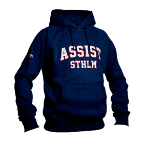 ASSIST STHLM PULLOVER NAVY M