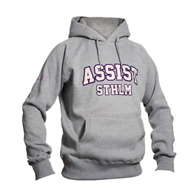 ASSIST STHLM PULLOVER GREY  M
