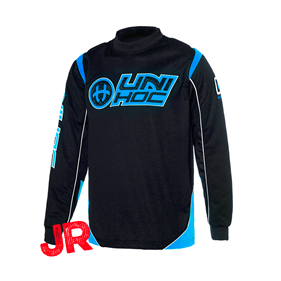 UNIHOC GOALIE SWEATER OPTIMA JR BLACK/BLUE 160 CL