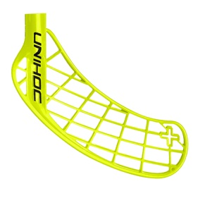 UNIHOC PLAYER+ NEON YELLOW, MEDIUM RIGHT