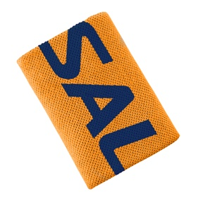 SALMING WRISTBAND MID ORANGE/NAVY