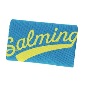 SALMING WRISTBAND LONG CYAN/FLUOYELLOW