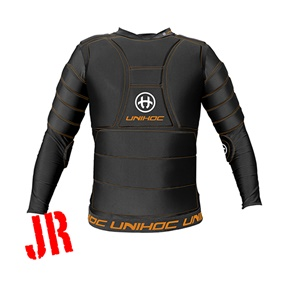 UNIHOC GOALIE T-SHIRT FLOW JR 150/170 CL