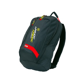 UNIHOC BACKPACK CRIMSON LINE BLACK