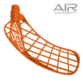 ZONE HYPER AIR SOFT FEEL NEON ORANGE, MEDIUM LEFT