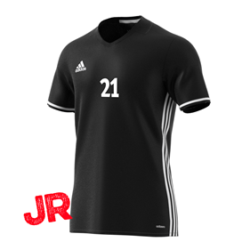 ADIDAS CONDIVO 16 JSY FITTED FIT JR BLACK 116 CL