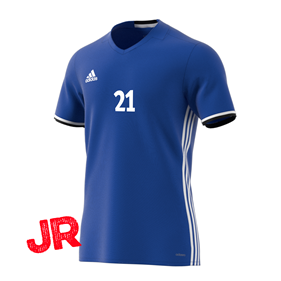ADIDAS CONDIVO 16 JSY FITTED FIT JR BOLD BLUE 116 CL