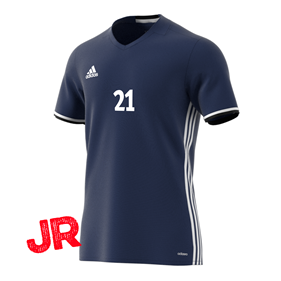 ADIDAS CONDIVO 16 JSY FITTED FIT JR DARK BLUE 116 CL