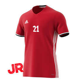 ADIDAS CONDIVO 16 JSY FITTED FIT JR POWER RED 128 CL