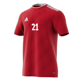 ADIDAS CONDIVO 18 JERSEY POWER RED L
