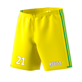 ADIDAS CONDIVO SHORTS BRIGHT YELLOW/GREEN L