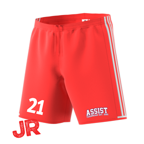 ADIDAS CONDIVO SHORTS JR BRIGHT RED/WHITE 128 CL