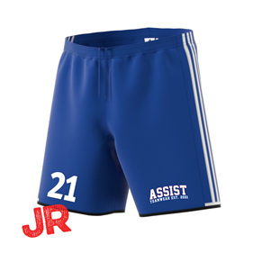 ADIDAS CONDIVO SHORTS JR BOLD BLUE/WHITE 116 CL