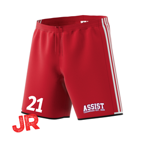 ADIDAS CONDIVO SHORTS JR POWER RED/WHITE 116 CL