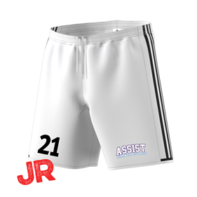 ADIDAS CONDIVO SHORTS JR WHITE/BLACK 116 CL
