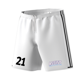 ADIDAS CONDIVO SHORTS WHITE/BLACK L