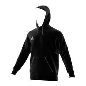 ADIDAS CORE HOODY BLACK/WHITE S