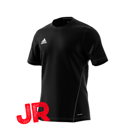 ADIDAS CORE JR TRAINING JSY BLACK/WHITE 116 CL