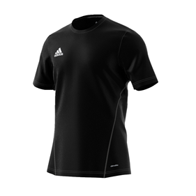 ADIDAS CORE TRAINING JSY BLACK/WHITE S