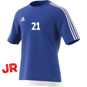 ADIDAS ESTRO 15 JSY JR BOLD BLUE/WHITE 116 CL