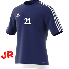 ADIDAS ESTRO 15 JSY JR DARK BLUE/WHITE 116 CL