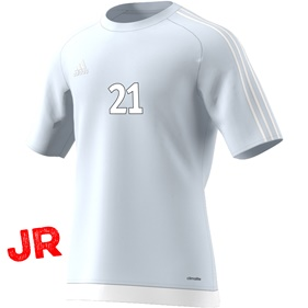 ADIDAS ESTRO 15 JSY JR LIGHT GREY/WHITE 116 CL