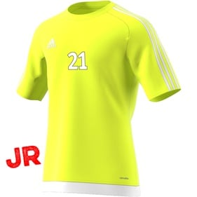 ADIDAS ESTRO 15 JSY JR SOLAR YELLOW/WHITE 116 CL