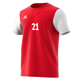 ADIDAS ESTRO 19 JERSEY POWER RED L