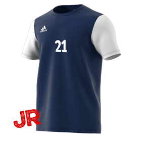 ADIDAS ESTRO 19 JR JERSEY DARK BLUE 116 CL