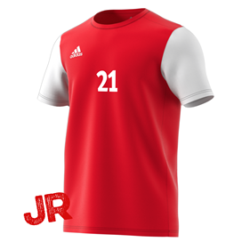 ADIDAS ESTRO 19 JR JERSEY POWER RED 116 CL