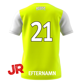ADIDAS ESTRO 19 JR JERSEY YELLOW 116 CL